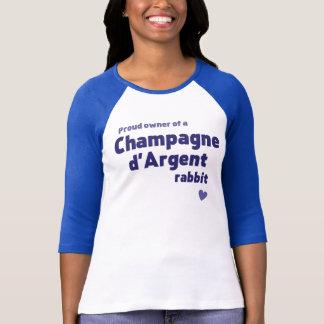 Champagne d'Argent rabbit T-Shirt