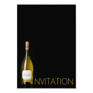 Champagne Dinner Party Corporate Vip Invitation