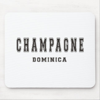 Champagne Dominica Mouse Pad