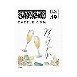Champagne Flute RSVP Stamp