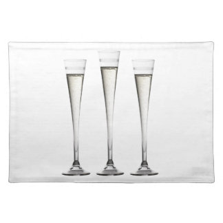 Champagne Flutes Placemats