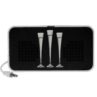 Champagne Flutes Travel Speakers