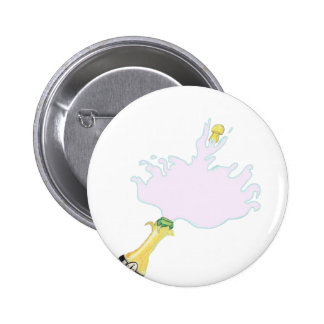Champagne For A Wedding Pinback Buttons