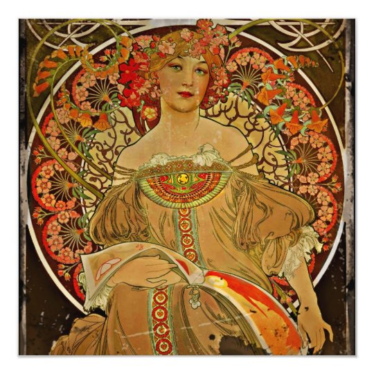 Champagne Girl 1897 Card