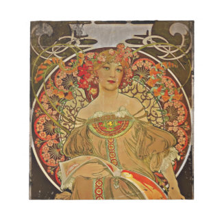 Champagne GIrl c1897 Notepad
