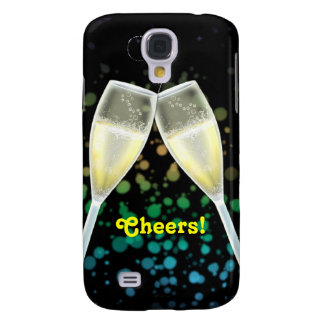 Champagne Glass Cheers Galaxy S4 Cover