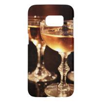 champagne glass golden toast samsung galaxy s7 case