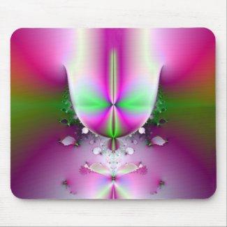champagne glass mousepad