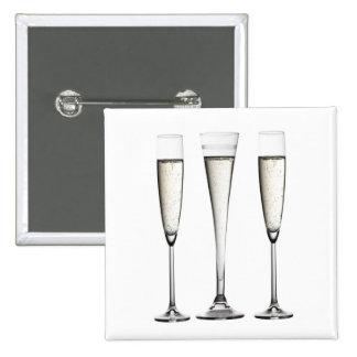 Champagne Glasses Button