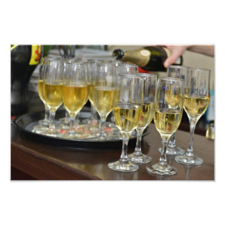 Champagne glasses photo