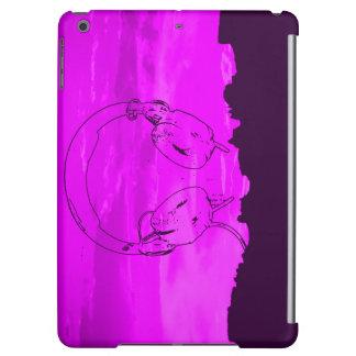 champagne horizon iPad air headphone sky Case For iPad Air
