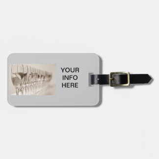 CHAMPAGNE LOVER'S LUGGAGE TAG