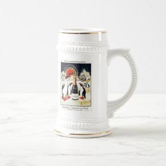 Champagne Miller-Caque & Fils Beer Stein