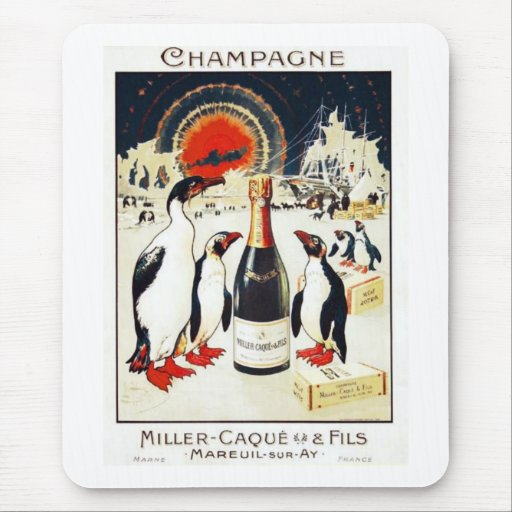 Champagne Miller-Caque & Fils Mouse Pad
