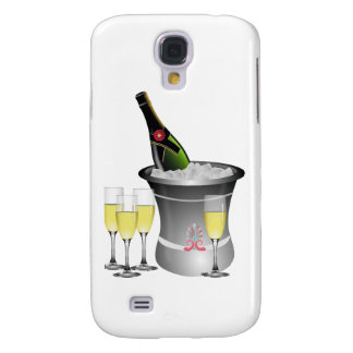 Champagne On Ice Galaxy S4 Case