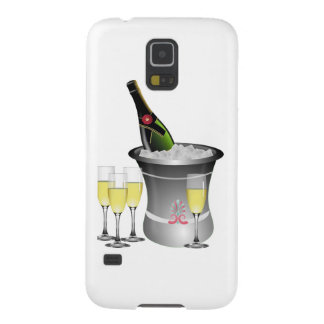 Champagne On Ice Galaxy S5 Case