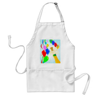 Champagne Party 2017 Adult Apron