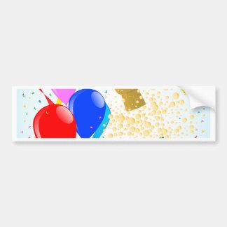 Champagne Party 2017 Bumper Sticker