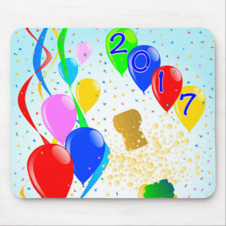 Champagne Party 2017 Mouse Pad