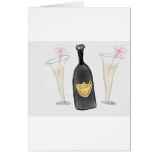 Champagne Party for 2 Card
