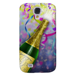 Champagne Party Happy New Year Samsung Galaxy S4 Cover