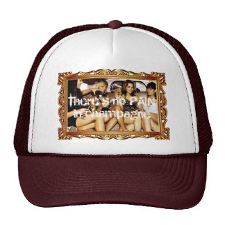 Champagne party trucker hats