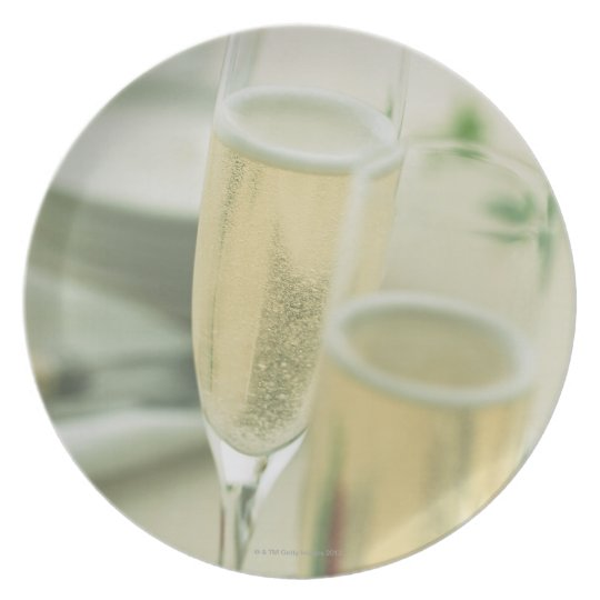 Champagne Plate