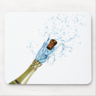 Champagne Popping Mouse Pad