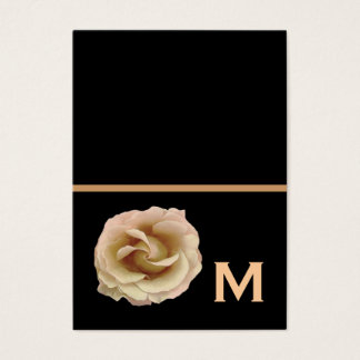 Champagne Rose Wedding Gift Tags or Fold a Note
