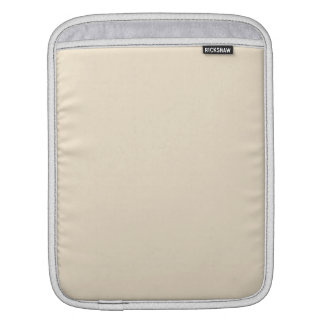 Champagne Solid Color iPad Sleeves