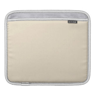 Champagne Solid Color Sleeves For iPads
