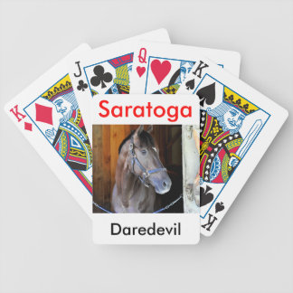 """Champagne Stakes Winner """"Daredevil"""" Bicycle Playing Cards"""