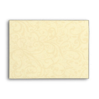 Champagne Swirl Envelope (A7)
