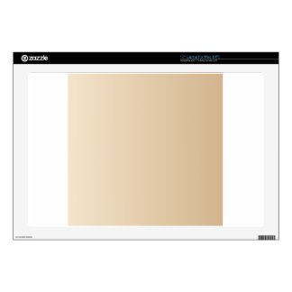 Champagne to Tan Vertical Gradient Skin For Laptop