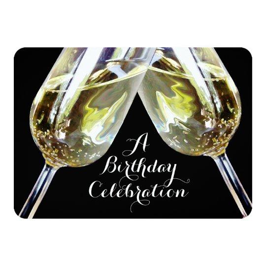Th Birthday Champagne Glass
