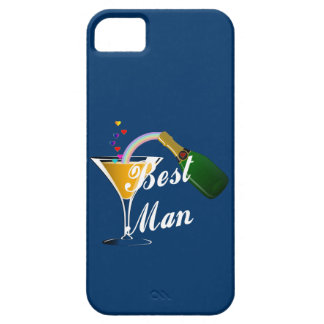 Champagne Toast Best Man iPhone SE/5/5s Case