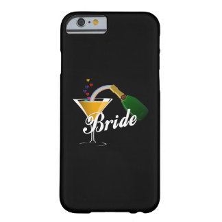 Champagne Toast Bride Barely There iPhone 6 Case