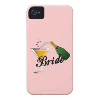 Champagne Toast Bride iPhone 4 Cover