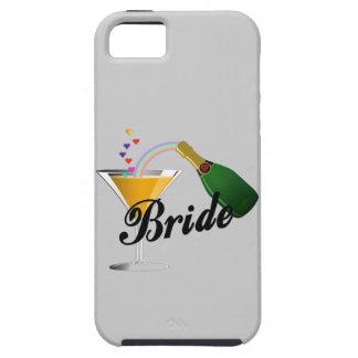 Champagne Toast Bride iPhone SE/5/5s Case