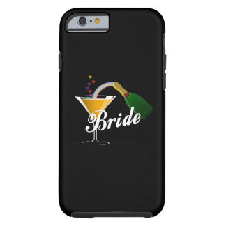 Champagne Toast Bride Tough iPhone 6 Case