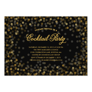 CHAMPAGNE TOAST   HOLIDAY PARTY INVITATION