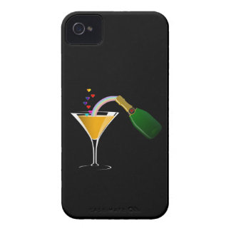 Champagne Toast iPhone 4 Cover