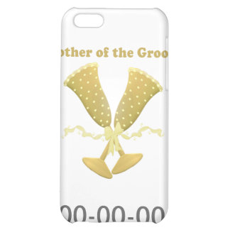 Champagne Toast Mother of Groom iPhone 5C Covers
