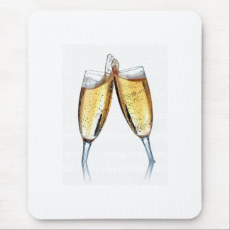 CHAMPAGNE TOAST MOUSEPAD