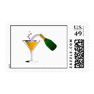 Champagne Toast Postage