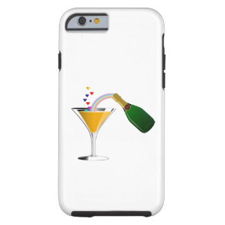 Champagne Toast Tough iPhone 6 Case