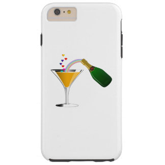 Champagne Toast Tough iPhone 6 Plus Case