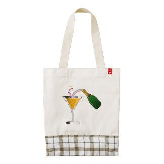 Champagne Toast Zazzle HEART Tote Bag