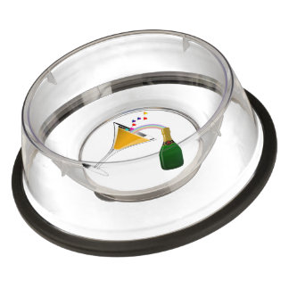 Champagne Toast Pet Bowl