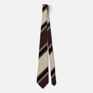 Champagne Wine and Blackberry Striped Tie